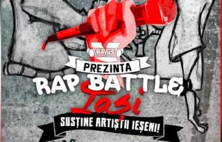 Poster Rap Battle Iasi