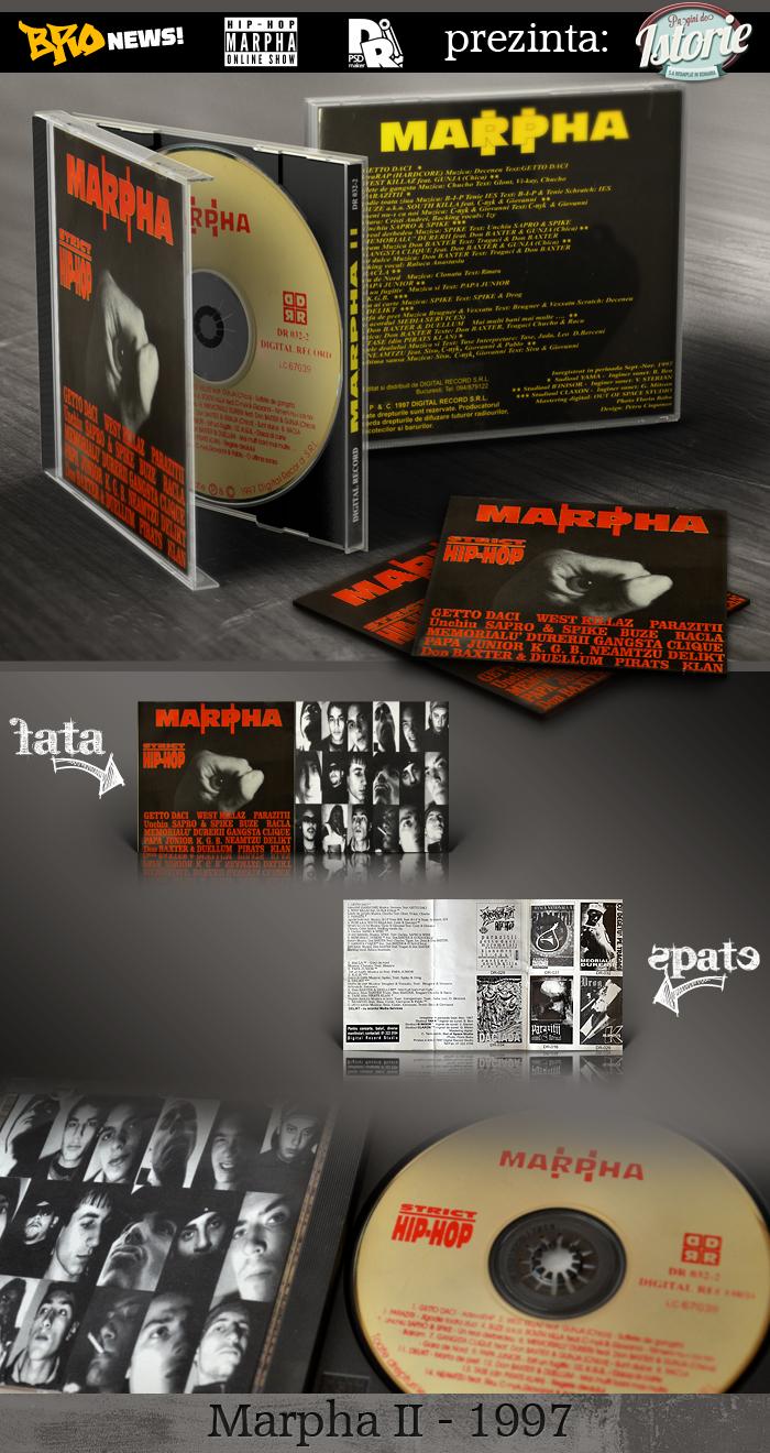 Marphă - Strict Hip-Hop II prezentare CD